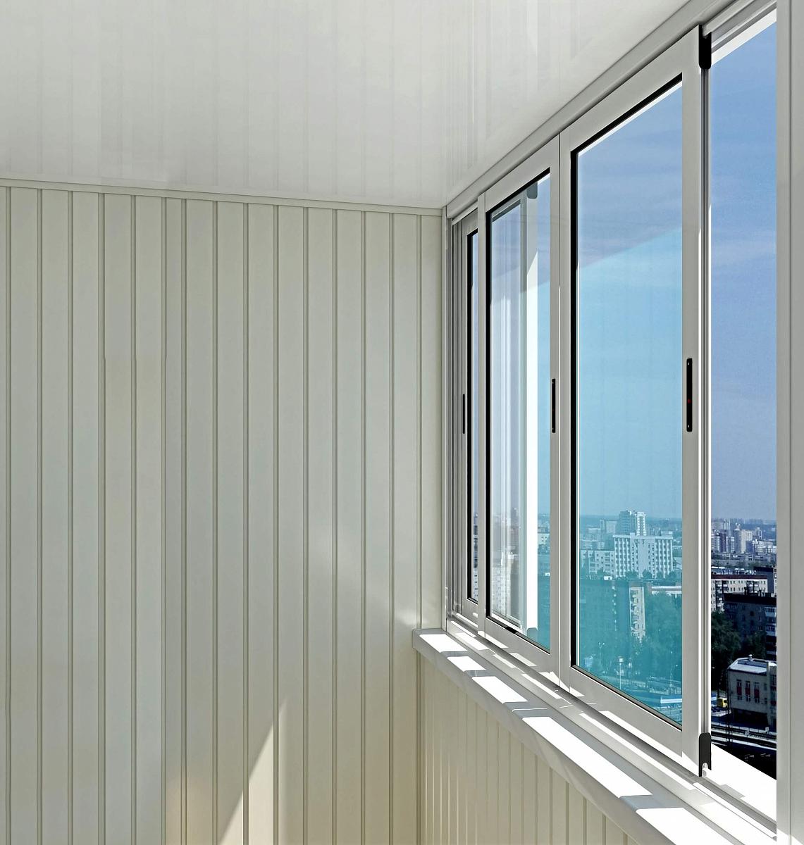 Остекление балконов и лоджий - рязань и область.